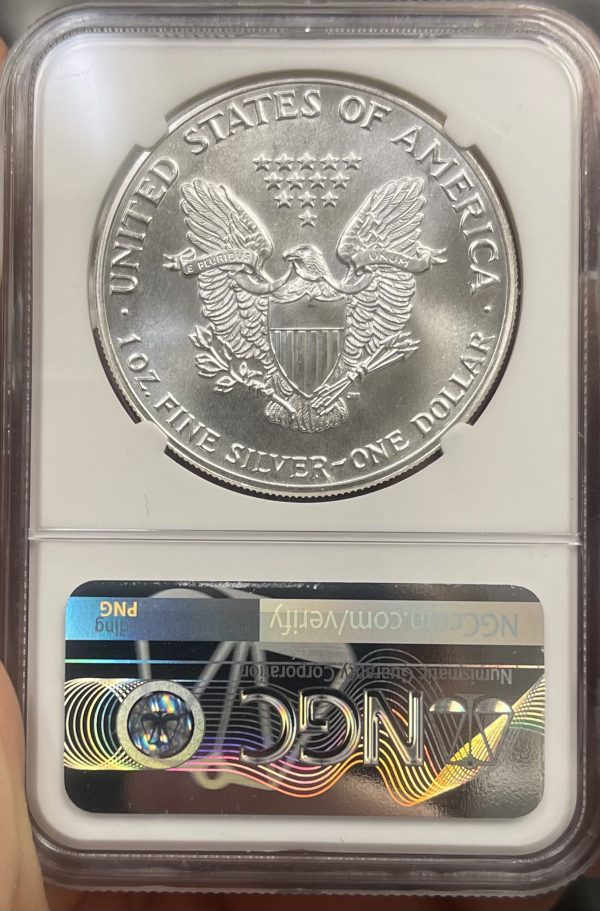 1987 American Silver Eagle NGC Certified MS 69 - Monster Collection