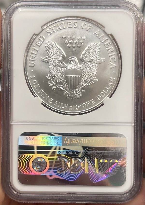1996 American Silver Eagle NGC Certified MS 69 - Monster Collection